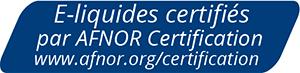 E-liquide Certification Afnor