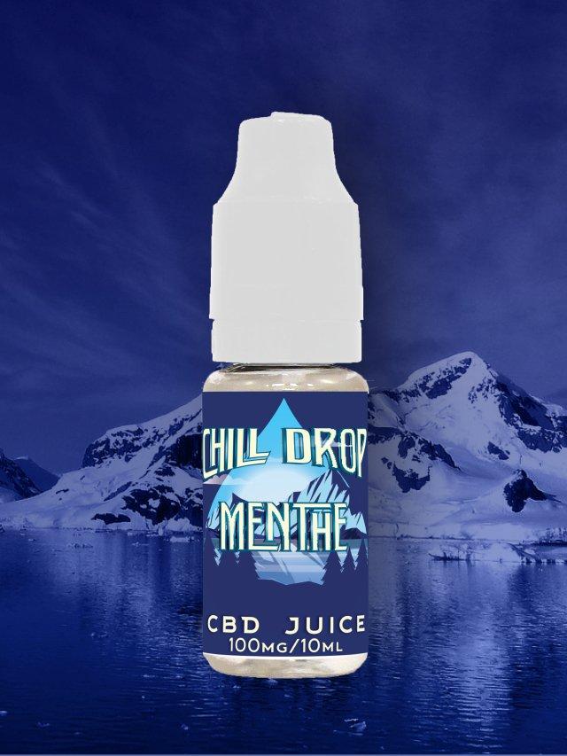 E-liquide Chill Drop - Découverte - Menthe