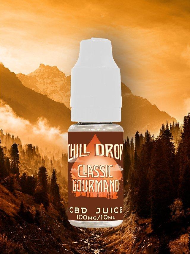 E-liquide Chill Drop - Découverte - Classic Gourmand