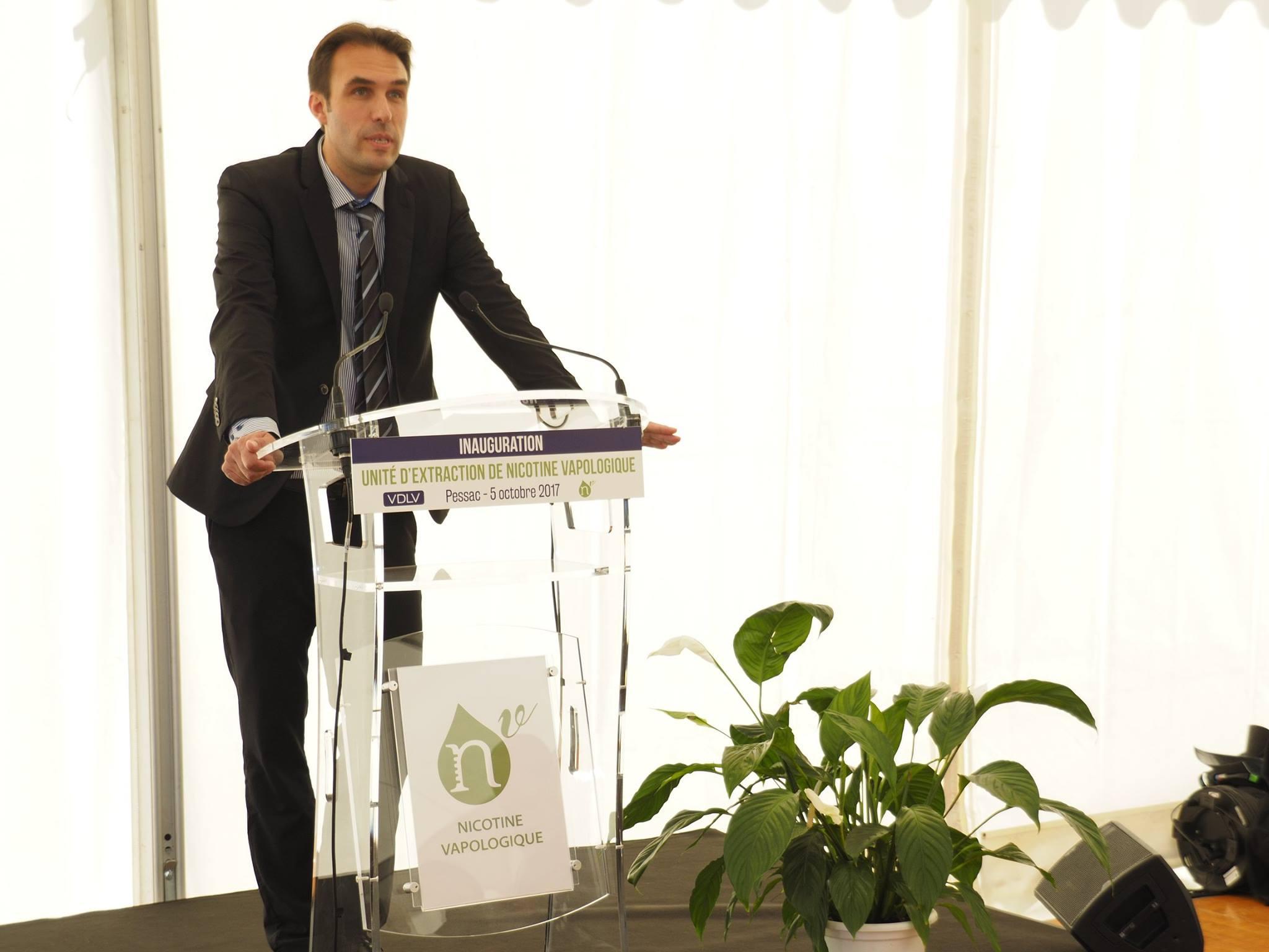 Discours de Vincent Cuisset, Président de VDLV