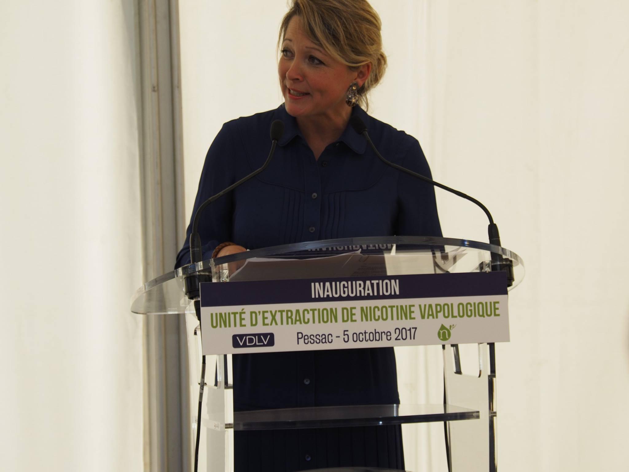 Discours d'Anne-Laure Bedu, Conseillère Régionale de la Région Nouvelle-Aquitaine