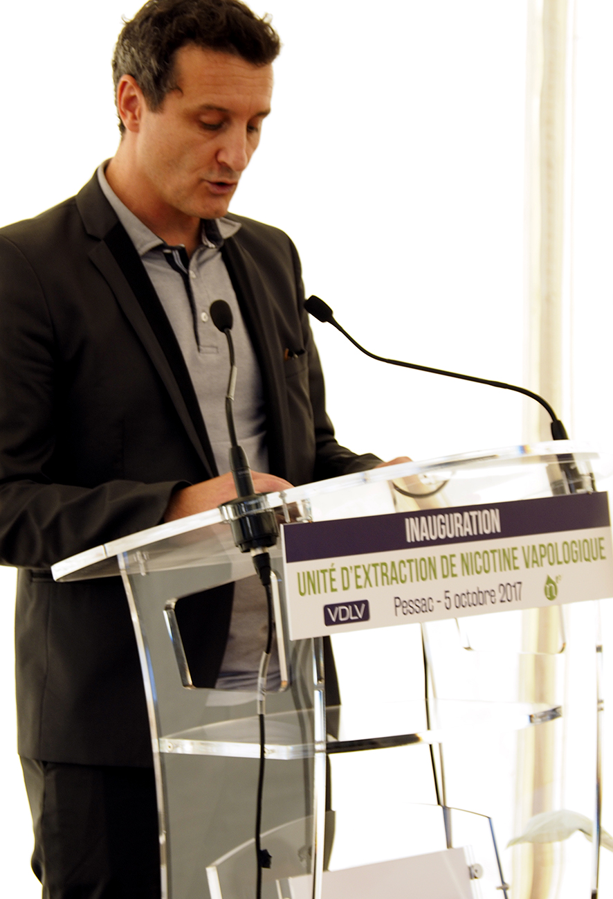Discours de Charly Pairaud, Directeur Général de VDLV