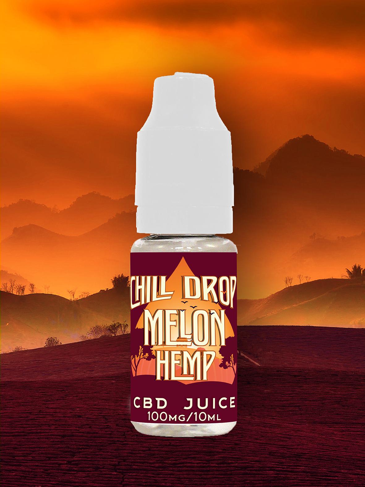 E-liquid Chill Drop - Getaway - Melon Hemp