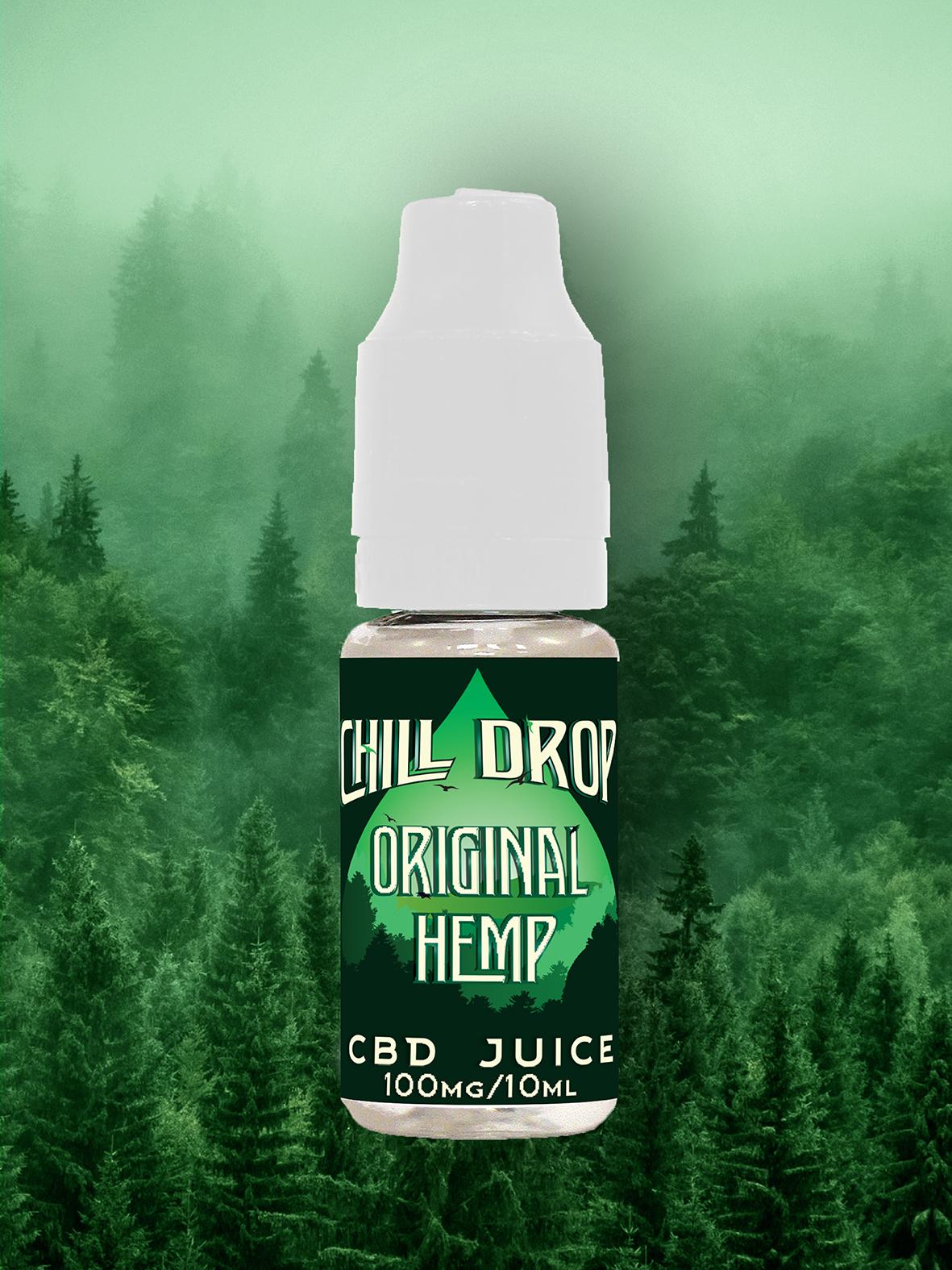 E-liquid Chill Drop - Original - Hemp