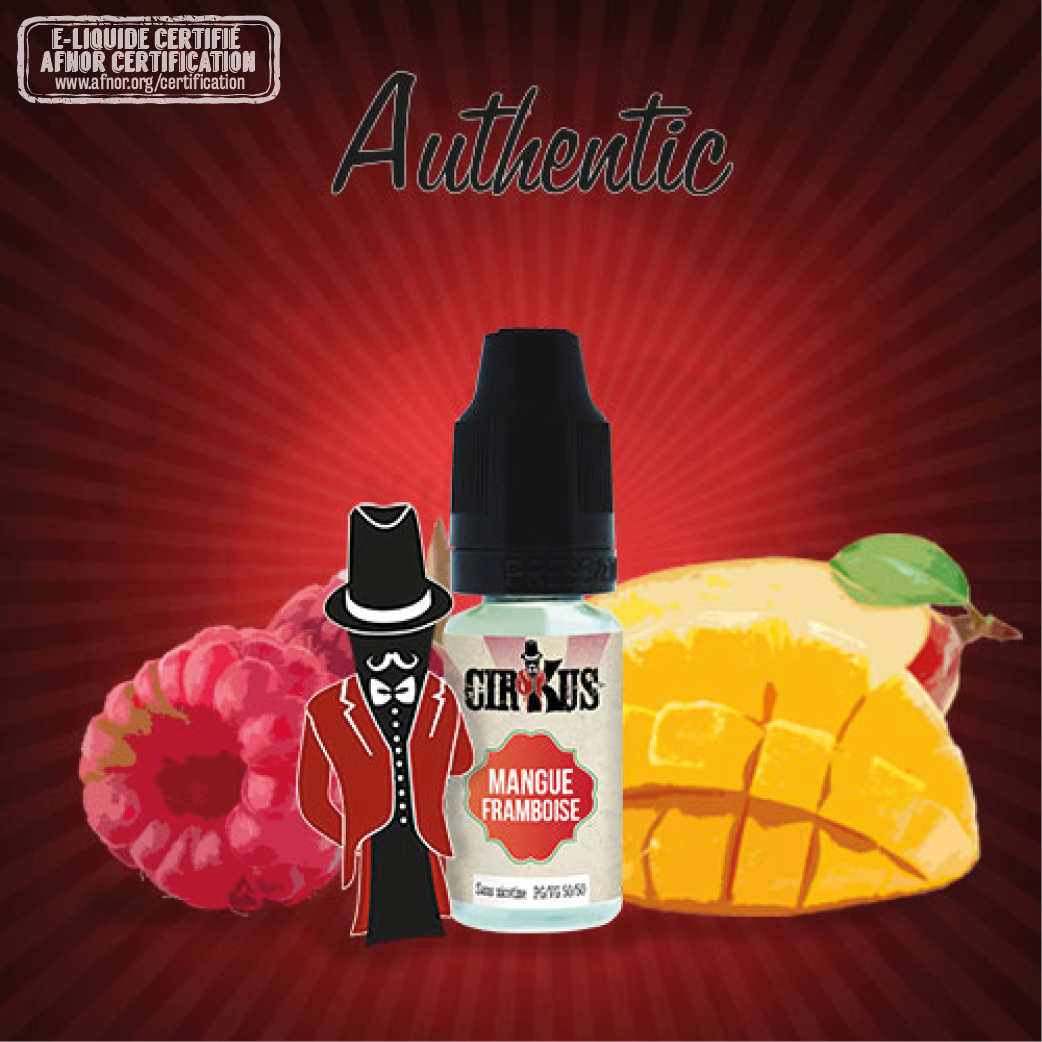 Authentic CirKus - Mangue Framboise