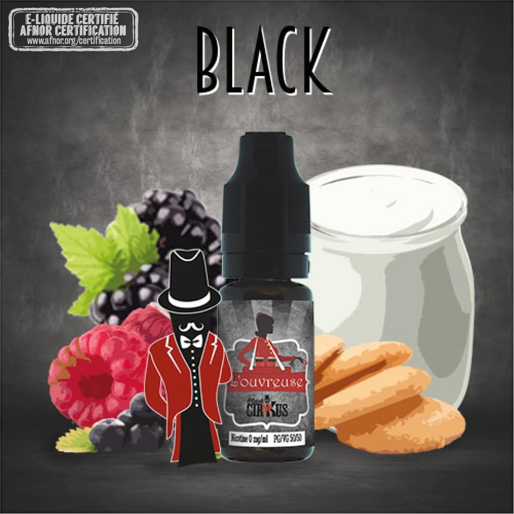 E-liquide Black CirKus - L'ouvreuse