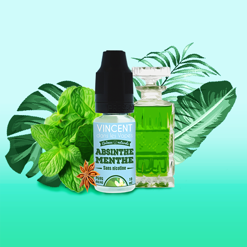 Les Incontournables - E-liquide Absinthe Menthe