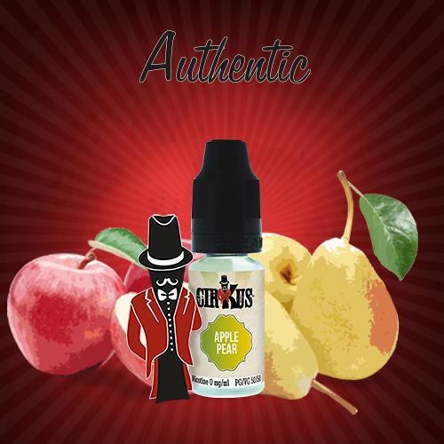 Authentic Cirkus E-liquid - Apple Pear