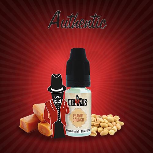 Authentic Cirkus E-liquid - Peanut Crunch