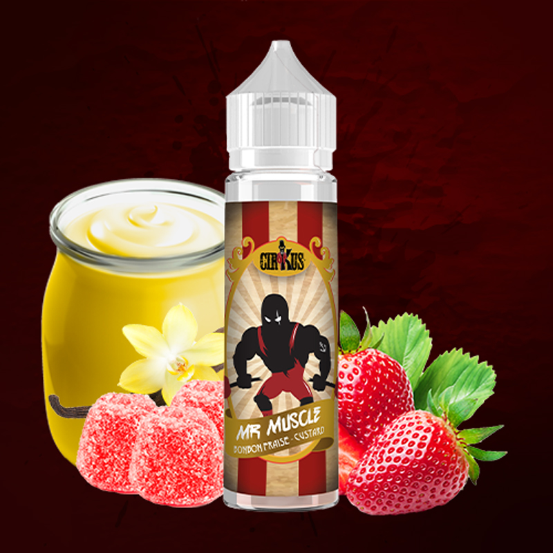 E-liquide Black CirKus - Mr muscle