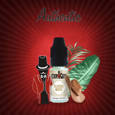 E-liquide Authentic Cirkus - Classic White