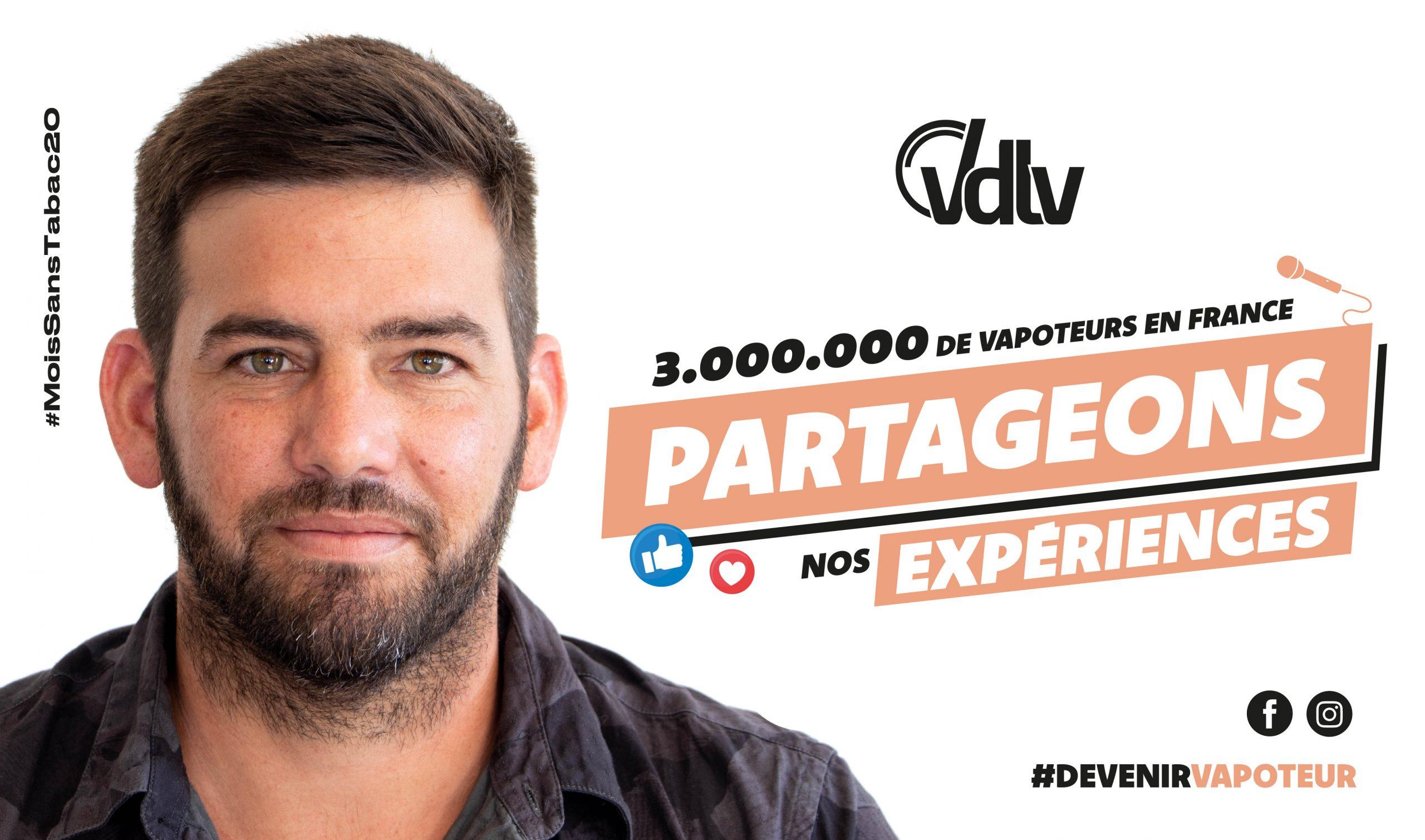 VDLV participe au mois sans tabac 2020
