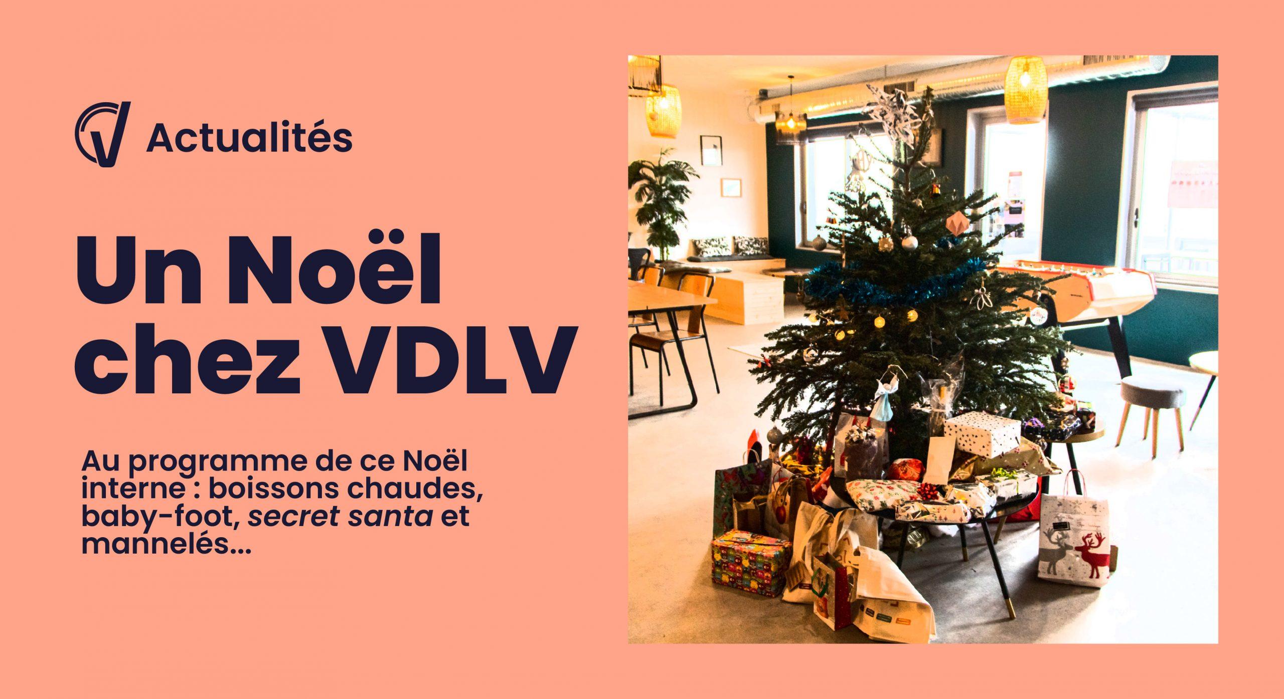 Les équipes de VDLV fêtent Noël.