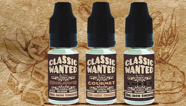 Classic Wanted en arômes concentrés